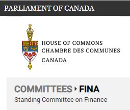 FINA house of commons committee