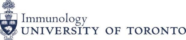 Immunology at University of Toronto
