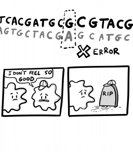 DNA replication error