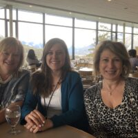Imogen Coe, Bianca Scuric and Mona Nemer in Banff