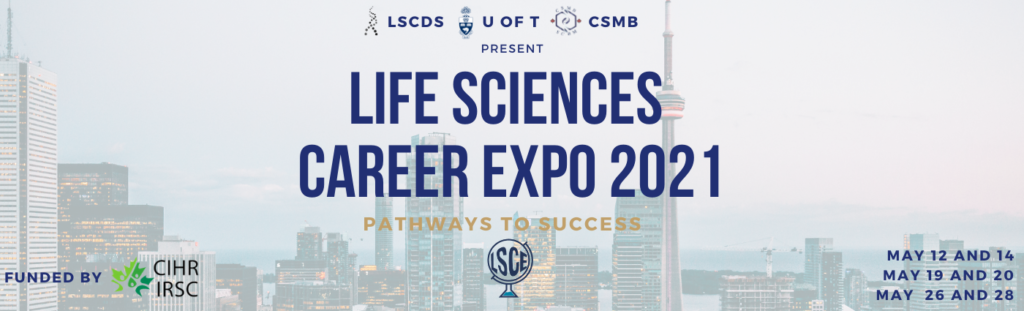 life sciences career expo banner
